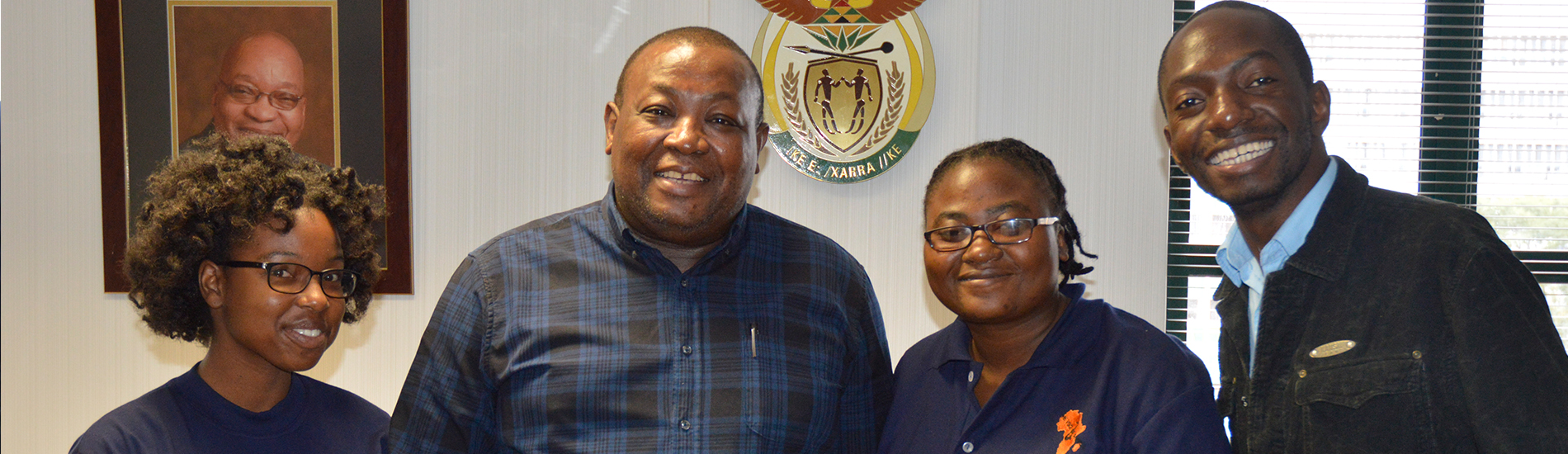 Interview with South African high commissioner to Botswana.