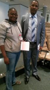 Executive Director with Hon Duma Boko